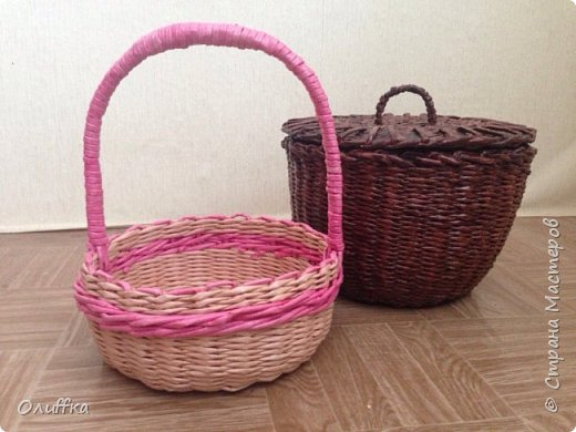 Небольшая корзиночка для любимой внучки на Пасху фото 2