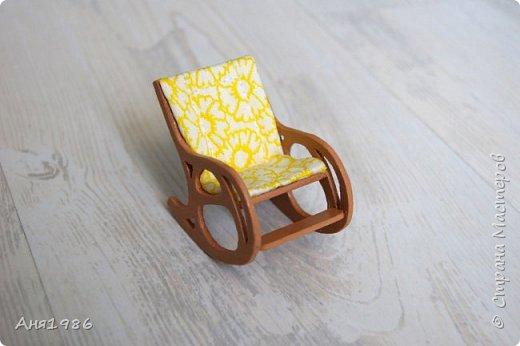 Кресло-качалка миниатюра