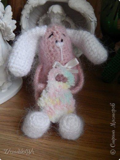 Розовый Зайка фото 5