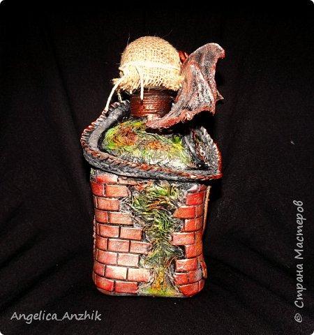 Дракон на бутылке. Любимая тема. фото 2