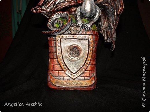 Дракон на бутылке. Любимая тема. фото 5