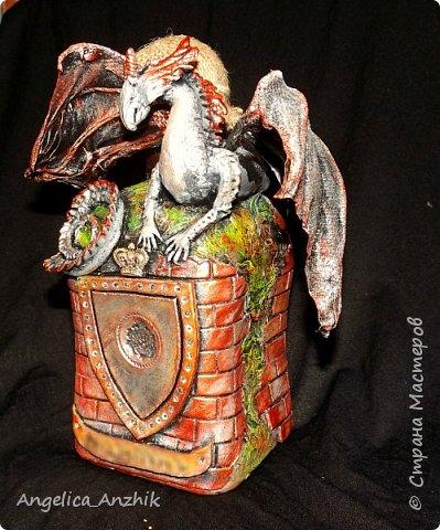 Дракон на бутылке. Любимая тема. фото 6