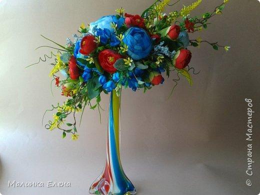 Цветочные композиции фото 1