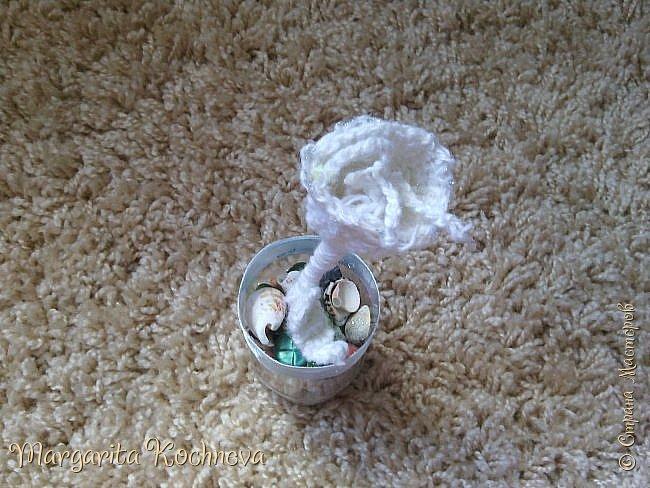 Сказочный цветок крючком фото 2