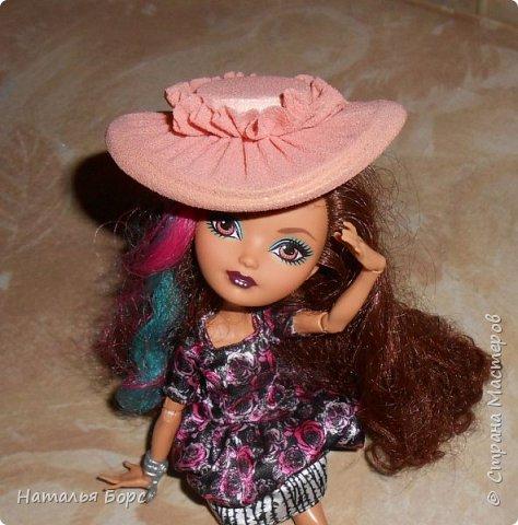 Всем ЗДРАВСТВУЙТЕ!!! Сегодня я хочу показать, как я делаю шляпки для кукол - барышень.Такие шляпки подходят как для игровых, так и для интерьерных кукол. Они не мнутся и не деформируются. Придумала сама, хотя не исключаю возможности, что подобный МК кто-то мог выложить и до меня... фото 21
