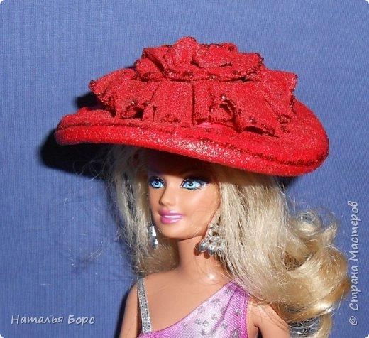 Всем ЗДРАВСТВУЙТЕ!!! Сегодня я хочу показать, как я делаю шляпки для кукол - барышень.Такие шляпки подходят как для игровых, так и для интерьерных кукол. Они не мнутся и не деформируются. Придумала сама, хотя не исключаю возможности, что подобный МК кто-то мог выложить и до меня... фото 23