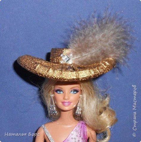 Всем ЗДРАВСТВУЙТЕ!!! Сегодня я хочу показать, как я делаю шляпки для кукол - барышень.Такие шляпки подходят как для игровых, так и для интерьерных кукол. Они не мнутся и не деформируются. Придумала сама, хотя не исключаю возможности, что подобный МК кто-то мог выложить и до меня... фото 32