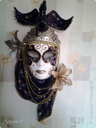 интерьерная настенная маска Ночь фото 1