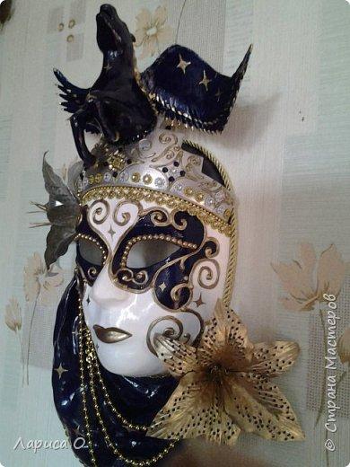 интерьерная настенная маска Ночь фото 6