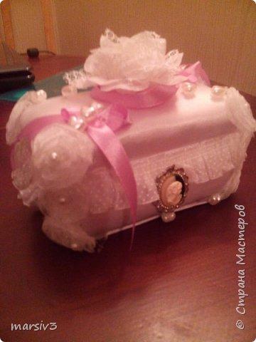 Шкатулка для подарка (денег) фото 2
