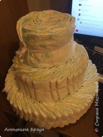 вот такой вот тортик у меня получился фото 5