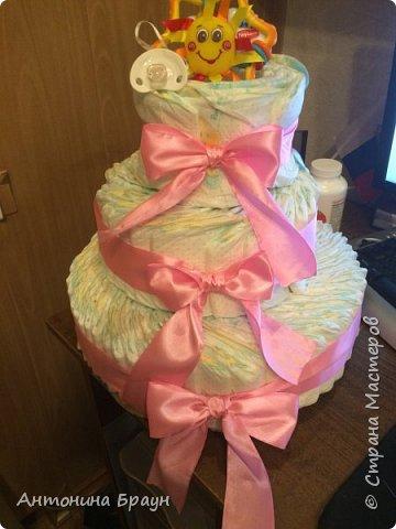 вот такой вот тортик у меня получился фото 1
