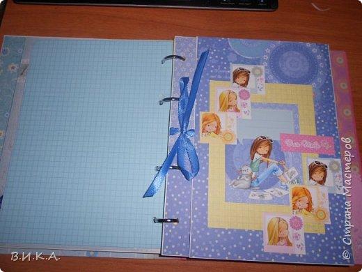 "Дневник для девочки ""Мои заметки"" фото 2"
