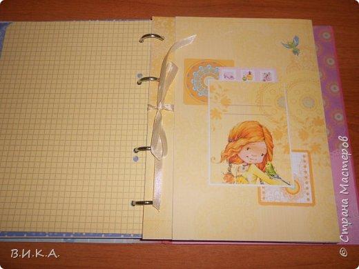 "Дневник для девочки ""Мои заметки"" фото 4"