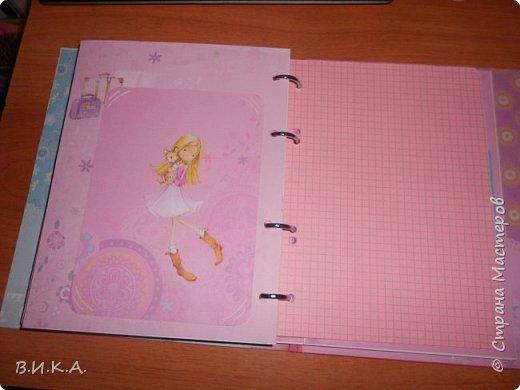 "Дневник для девочки ""Мои заметки"" фото 8"