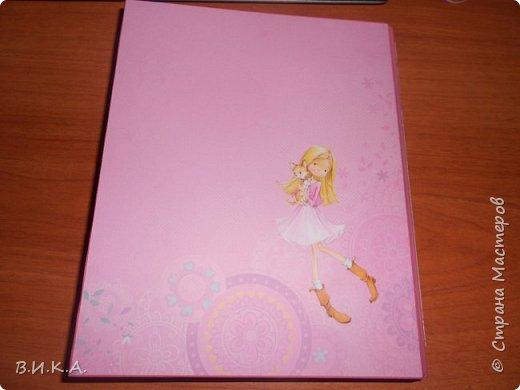 "Дневник для девочки ""Мои заметки"" фото 11"