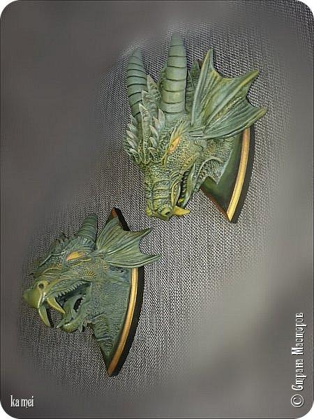 дракошики начались с того, что были две одинаковые досочки ромбовидной формы, значит надо было сделать что то парное. фото 1
