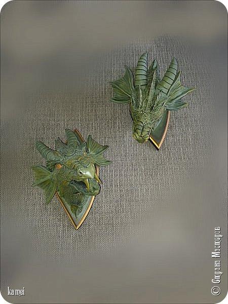 дракошики начались с того, что были две одинаковые досочки ромбовидной формы, значит надо было сделать что то парное. фото 3