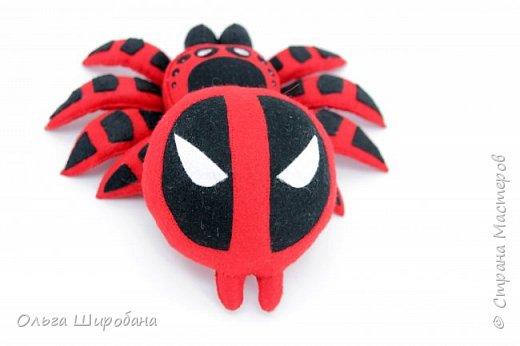 Здравствуйте.  Если уж шить пауков-супергероев, то куда же без Человека-паука ? фото 6