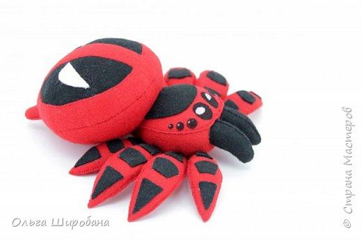 Здравствуйте.  Если уж шить пауков-супергероев, то куда же без Человека-паука ? фото 7