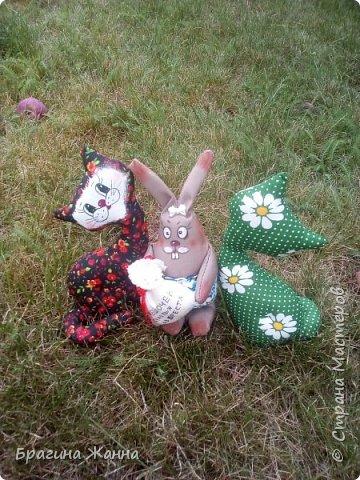 Всем жителям замечательной страны огромный привет!!!сегодня я к вам с котиками ))))и одним кроликом с мешочком счастья из Бреста)))и так приглашаю вас к просмотру! фото 1