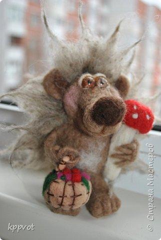 Мышь с печенькой фото 3