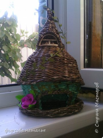 """Давно хотела орхидею,но из-за работы и редко бывая дома сделала из фома.Получила посылочку из """"Стрекозы"""" и сделала пока одну,но много желаний. фото 2"""