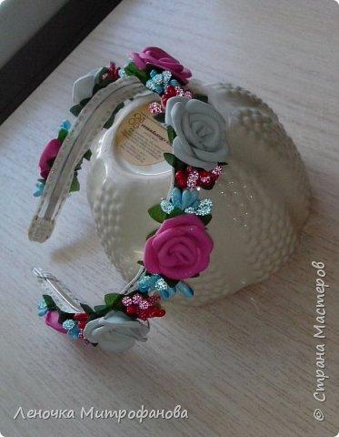 Ободки))))мои первые работы (подарки крестнице) фото 9