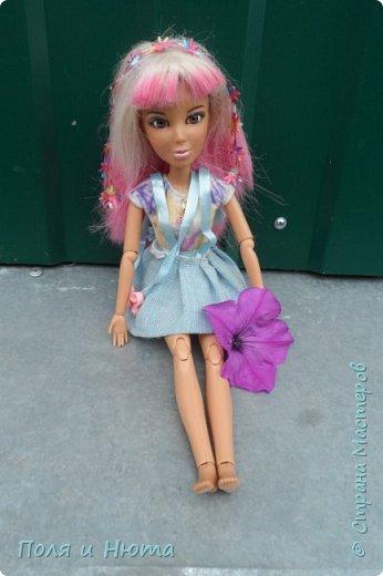 """Здравствуйте, жители Страны Мастеров! Сегодня я сдаю работу на конкурс Liza_Fox """" Мисс Июль"""". Для него у меня пошился вот такой комбинезончик. А теперь небольшая фотосессия! фото 5"""