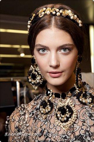 ТИАРА В СТИЛЕ Dolce & Gabbana фото 3