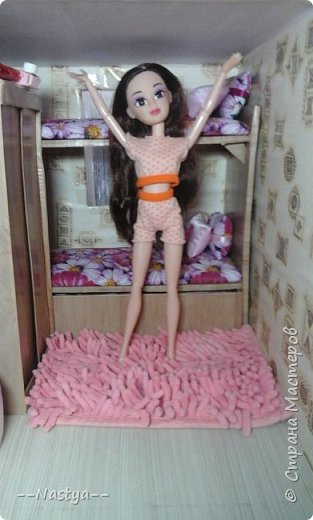 Доброе время суток! Решила я устроить для своих куклят ночёвку. Так же показать их ночнушки и комнату. фото 10
