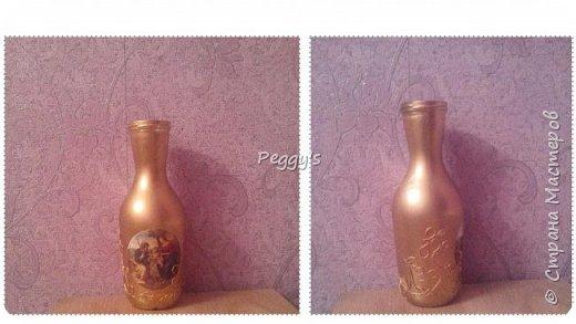 Сегодня я решила показать свою бутылку для святой воды. Она не только служит удобной ёмкостью для хранения, но и совсем не портит своим видом  интерьер.  Вот так выглядит наша бутылочка: фото 15