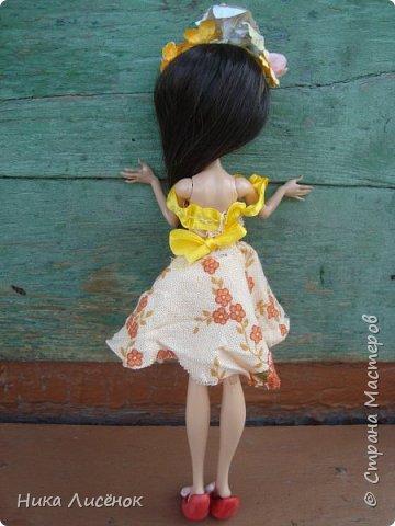 """Здравствуйте, жители Страны Мастеров! Сегодня я сдаю работу на конкурс """"Мисс Июль"""". Для него у меня пошилось такое платье и сделался """"цветочный"""" ободок. А теперь небольшая фотосессия! фото 8"""