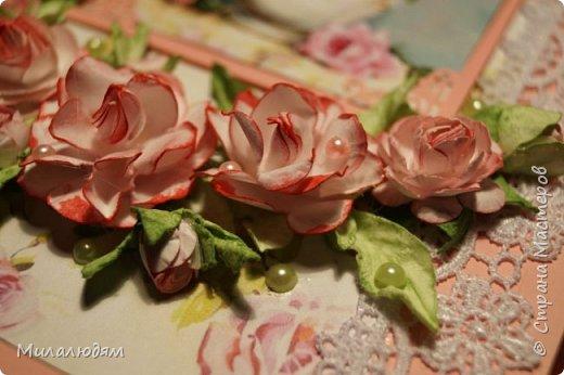 Всем здравствуйте. Я продолжаю готовить подарки в гости в Горный Алтай.это вторая открытка. фото 16