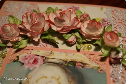 Всем здравствуйте. Я продолжаю готовить подарки в гости в Горный Алтай.это вторая открытка. фото 19