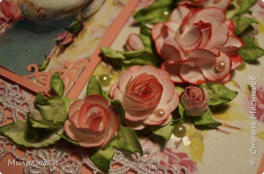 Всем здравствуйте. Я продолжаю готовить подарки в гости в Горный Алтай.это вторая открытка. фото 21