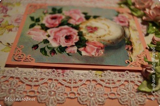 Всем здравствуйте. Я продолжаю готовить подарки в гости в Горный Алтай.это вторая открытка. фото 22