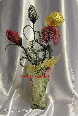 Выжигатель по ткани ( усовершенствованный  и доработанный мастером вручную ), при помощи которого я делаю картины и панно, скатерти и салфетки, цветы и броши, аксессуары и элементы одежды и многое другое . Все работы можно посмотреть в контакте и на Ярмарке мастеров. фото 2