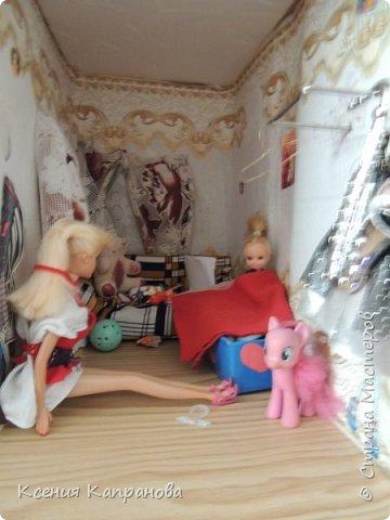 Приветик! Элизабет спит, и сегодня  я расскажу про лучший день моей куклы! фото 8