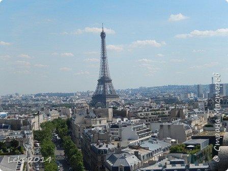 Дорогие друзья! Приглашаю Вас на небольшую экскурсию по Парижу. И вначале, разумеется, символ города - Эйфелева башня. фото 42