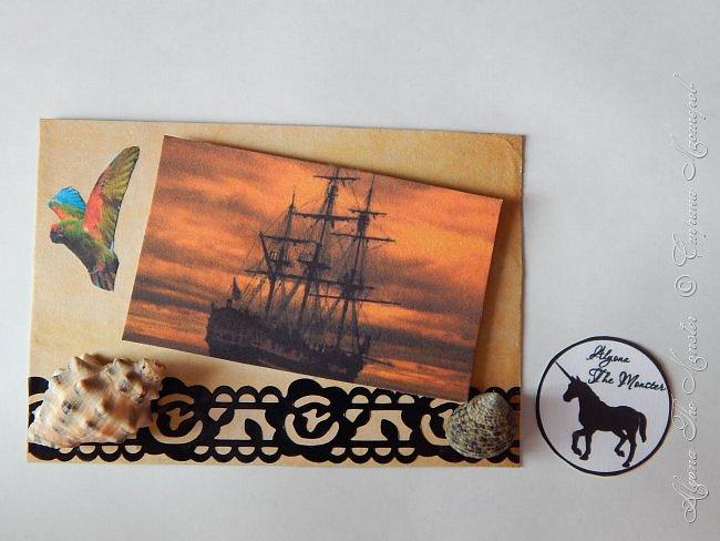 """Приветствую всех жителей Страны Мастеров! Карточки АТС """"Морские путешествия"""" для обмена. Меня вдохновил фильм """"Пираты Карибского моря"""" фото 3"""