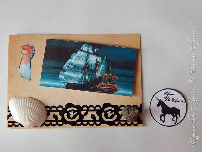 """Приветствую всех жителей Страны Мастеров! Карточки АТС """"Морские путешествия"""" для обмена. Меня вдохновил фильм """"Пираты Карибского моря"""" фото 5"""
