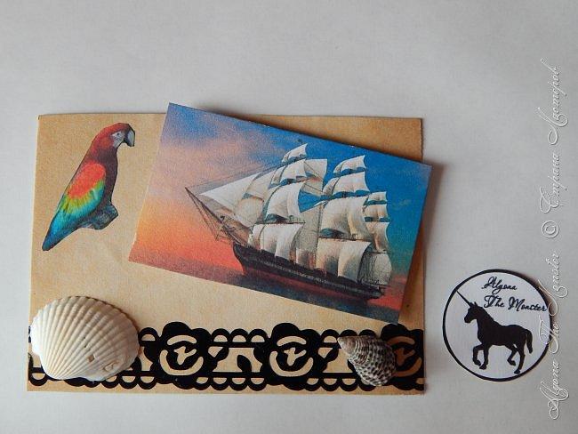 """Приветствую всех жителей Страны Мастеров! Карточки АТС """"Морские путешествия"""" для обмена. Меня вдохновил фильм """"Пираты Карибского моря"""" фото 6"""