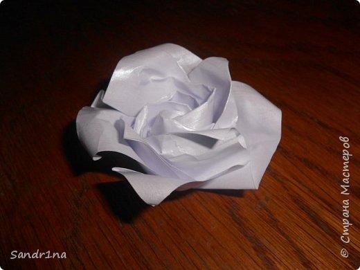 Розы оригами фото 17