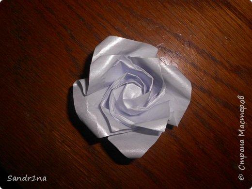 Розы оригами фото 18