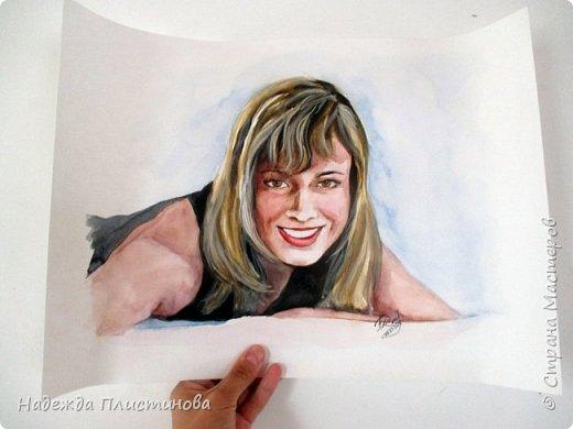 Портрет акварелью 14 фото 3