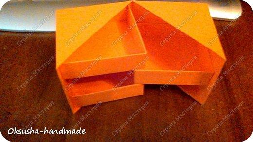 Моя проба пера по освоению нового дизайна коробочки была очень удачной, но потом когда я начала подстраивать кубик под свои идеи, столкнулась вот с какими трудностями: 1. Сама коробочка не очень прочная и не выдерживает положенные в каждый слой шоколадки. 2. Сами коробочки для наполнения тоже не очень прочные.  фото 9