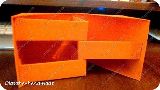 Моя проба пера по освоению нового дизайна коробочки была очень удачной, но потом когда я начала подстраивать кубик под свои идеи, столкнулась вот с какими трудностями: 1. Сама коробочка не очень прочная и не выдерживает положенные в каждый слой шоколадки. 2. Сами коробочки для наполнения тоже не очень прочные.  фото 10