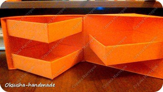 Моя проба пера по освоению нового дизайна коробочки была очень удачной, но потом когда я начала подстраивать кубик под свои идеи, столкнулась вот с какими трудностями: 1. Сама коробочка не очень прочная и не выдерживает положенные в каждый слой шоколадки. 2. Сами коробочки для наполнения тоже не очень прочные.  фото 12