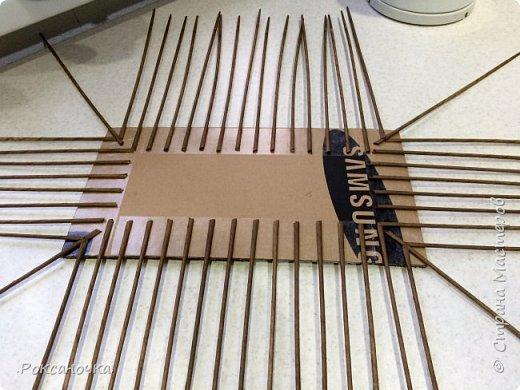 Всем привет. Очередное творение в декрете )))) корзина для полиэтиленовых пакетов.   фото 6